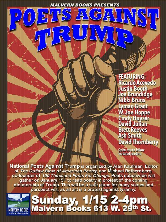nationalpoetsprotestjanuary2017malvern